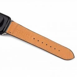 Hermes Style Leather Apple Watch Band Strap For iWatch Series 4/3/2/1 - Casememe