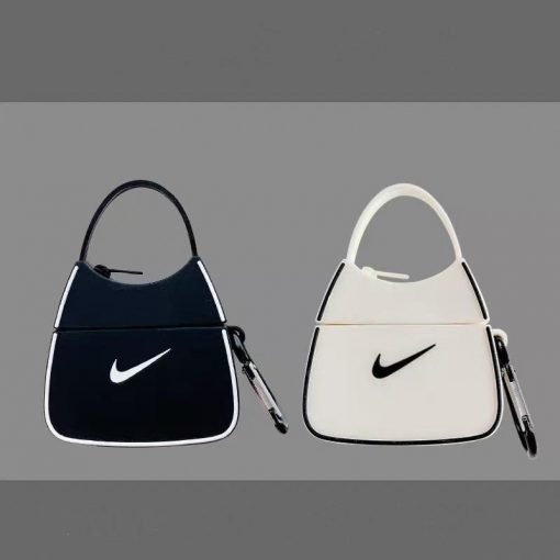 Nike Style Handbag Silicone Protective Case For Apple Airpods 1 & 2 & Pro - Casememe