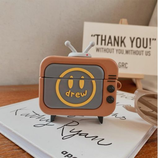 Drew House TV Silicone Protective Case For Apple Airpods 1 & 2 & Pro - Casememe