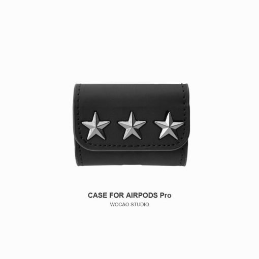 Givenchy Style Leather Protective Case For Apple Airpods 1 & 2 & Pro - Casememe