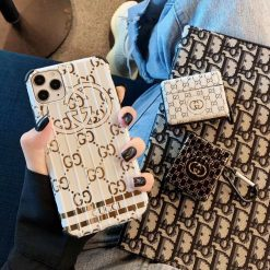 Gucci Style Electroplating Shockproof Protective Designer iPhone Case For iPhone SE 11 Pro Max X XS Max XR 7 8 Plus - Casememe