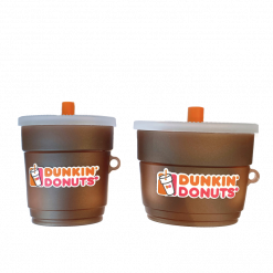 DUNKIN DONUTS Silicone Protective Case For Apple Airpods 1 & 2 & Pro - Casememe