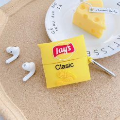 Lay's Chips Silicone Protective Case For Apple Airpods 1 & 2 & Pro - Casememe