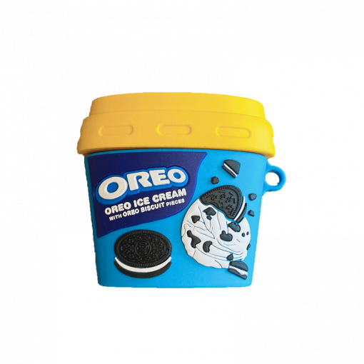 Oreo Ice Cream Silicone Protective Case For Apple Airpods 1 & 2 & Pro - Casememe