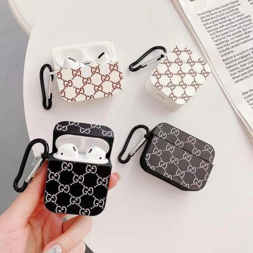 Gucci Style Silicone Protective Case For Apple Airpods 1 & 2 & Pro - Casememe