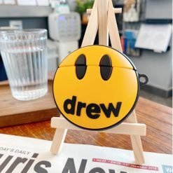 Drew House Style Silicone Protective Case For Apple Airpods 1 & 2 & Pro - Casememe