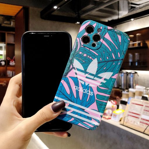 Adidas Style Tropical Protective Designer iPhone Case For All iPhone Models - Casememe