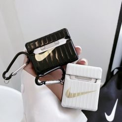 Nike Style Electroplating Protective Case For Apple Airpods 1 & 2 & Pro - Casememe