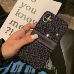 Burberry Style Beer Silicone Designer iPhone Case For All iPhone Models - Casememe