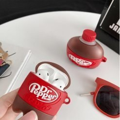 Dr. Pepper Pop Silicone Protective Case For Apple Airpods 1 & 2 & Pro - Casememe