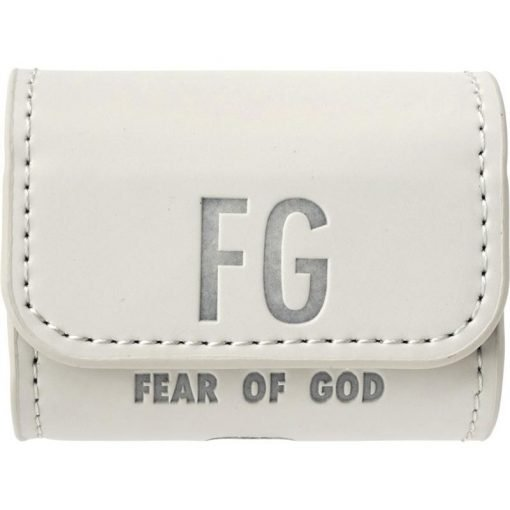 FEAR OF GOD Style Leather Protective Case For Apple Airpods 1 & 2 & Pro - Casememe