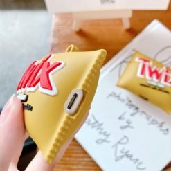 TWIX Chocolate Silicone Protective Case For Apple Airpods 1 & 2 & Pro - Casememe