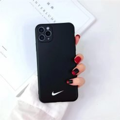 Nike Style Silicone Designer iPhone Case For iPhone 12 SE X XS XS Max XR 7 8 Plus - Casememe