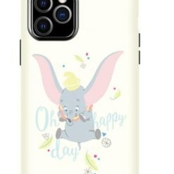Disney Style Dumbo Silicone Designer iPhone Case For iPhone SE 11 Pro Max X XS XS Max XR 7 8 Plus - Casememe