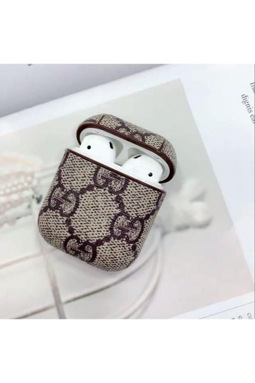 GC Style AirPods Classic Leather Protective Shockproof Case For Apple Airpods 1 & 2 - Casememe