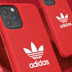 Adidas Style Classic Silicone Designer iPhone Case For iPhone SE 11 Pro Max X XS XS Max XR 7 8 Plus - Casememe