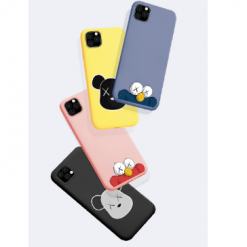 KAWS Style Sesame Street Silicone Designer iPhone Case For iPhone 11 Pro Max X XS XS Max XR 7 8 Plus - Casememe