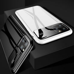Ultrathin Tempered Glass Shockproof Designer iPhone Case For iPhone SE 11 Pro Max X XS XS Max XR 7 8 Plus - Casememe