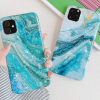 Sea Marble Glossy Silicone Designer iPhone Case For iPhone SE 11 Pro Max X XS XS Max XR 7 8 Plus - Casememe
