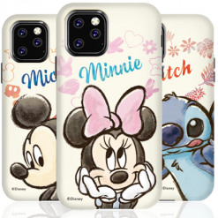 Mickey Minnie Mouse Style Double Wrap Designer iPhone Case For iPhone SE 11 Pro Max X XS XS Max XR 7 8 Plus - Casememe