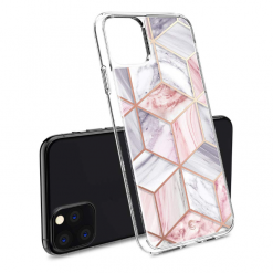 Geometric Marble Metal Frame Designer iPhone Case For iPhone SE 11 Pro Max X XS XS Max XR 7 8 Plus - Casememe