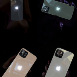 Luminating Tempered Glass Designer iPhone Case For iPhone SE 11 Pro Max X XS XS Max XR 7 8 Plus - Casememe
