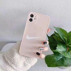 Nike Style Pastel Protective Designer iPhone Case For For All iPhone Models - Casememe