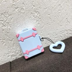 Cute Luggage Silicone Protective Case For Apple Airpods 1 & 2 - Casememe