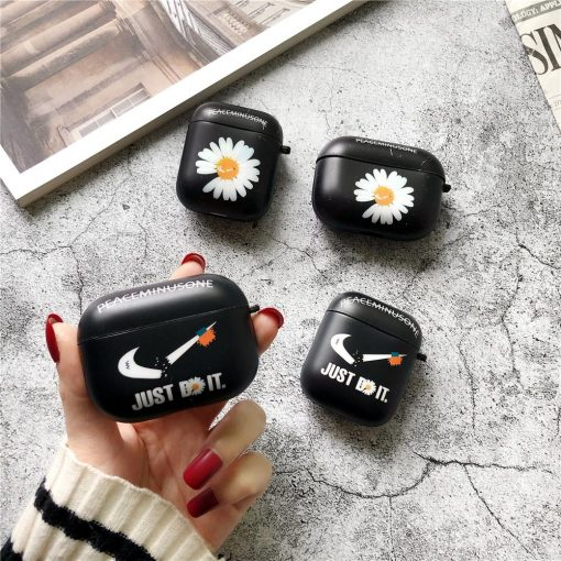 Nike Style Hard Protective Case For Apple Airpods 1 & 2 & Pro - Casememe