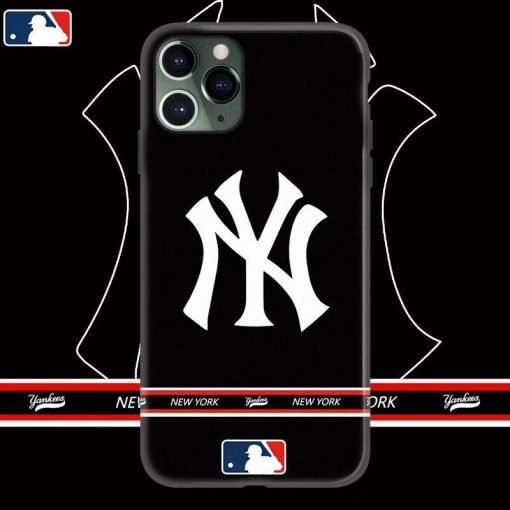 MLB Style Classic Glossy Shockproof Protective Designer iPhone Case For iPhone SE 11 Pro Max X XS Max XR 7 8 Plus - Casememe
