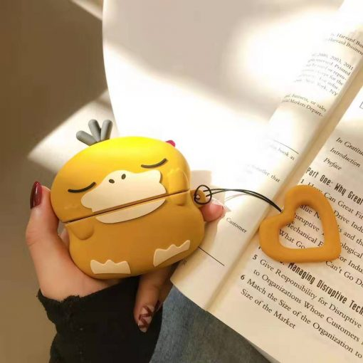 Psyduck Style Cute Silicone Protective Case For Apple Airpods Pro - Casememe