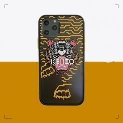 Kenzo Style Matte Silicone Shockproof Protective Designer iPhone Case For iPhone 12 SE 11 Pro Max X XS Max XR 7 8 Plus - Casememe