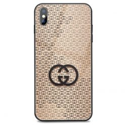 Gucci Style Tempered Glass Classic Designer iPhone Case For iPhone SE 11 Pro Max X XS Max XR 7 8 Plus - Casememe