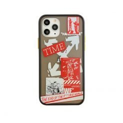 OFF WHITE Style Matte Silicone Shockproof Protective Designer iPhone Case For iPhone 12 SE 11 Pro Max X XS Max XR 7 8 Plus - Casememe