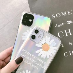 Peaceminusone x Nike Style Laser Silicone Shockproof Protective Designer iPhone Case For iPhone SE 11 Pro Max X XS Max XR 7 8 Plus - Casememe