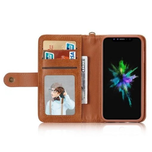 Hermes Style Luxury Retro Leather Phone Bag Magnetic Cases for iPhone  SE 11 PRO MAXX XS XR XSMax 7 8 Plus Multifunctional 2 in 1 Wallet Cover - Casememe