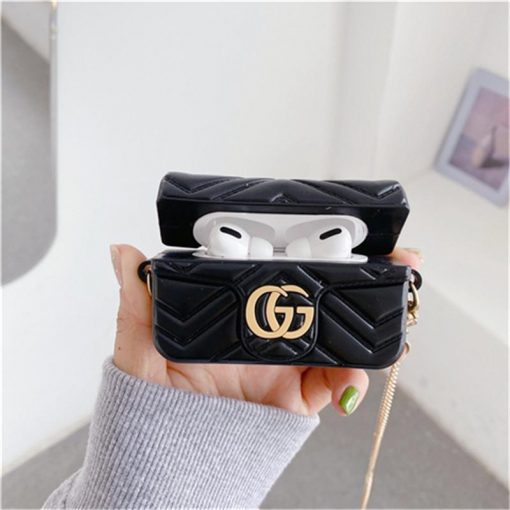Gucci Style Marmont  Protective Case For Apple Airpods Pro 1 & 2 - Casememe