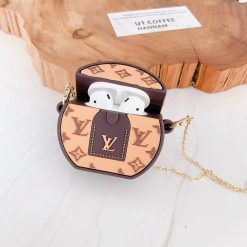 Louis Vuitton Style Silicone Protective Case For Apple Airpods 1 & 2 - Casememe