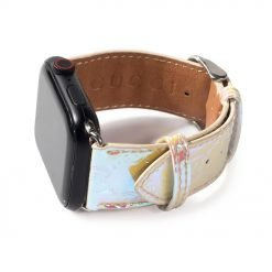 MORE COLORS GC Style Unicorn Laser Rainbow Leather Compatible With Apple Watch 38mm 40mm 42mm 44mm Band Strap For iWatch Series 4/3/2/1 - Casememe