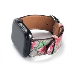 GC Style Leather Bee Snake Compatible With Apple Watch 38mm 40mm 42mm 44mm Band Strap For iWatch Series 4/3/2/1 - Casememe