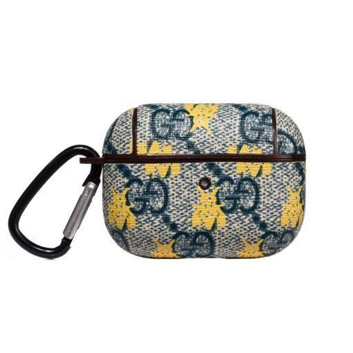 GC Style Navy Bee Protective Case For Apple Airpods Pro - Casememe