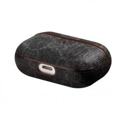 GC Style Classic Black Leather Protective Case For Apple Airpods Pro - Casememe