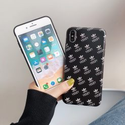 Yeezy x Adidas Style Matte Silicone Designer iPhone Case For iPhone X XS XS Max XR 7 8 Plus - Casememe