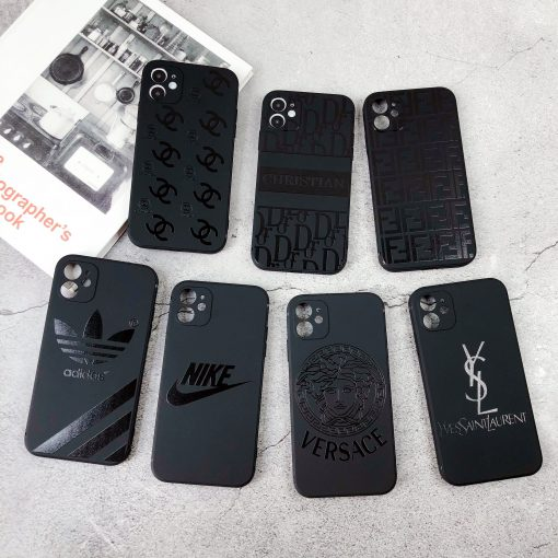 Versace Style Silicone Shockproof Protective Designer iPhone Case For iPhone 12 SE 11 Pro Max X XS Max XR 7 8 Plus - Casememe