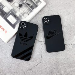 Nike Style Silicone Shockproof Protective Designer iPhone Case For iPhone 12 SE 11 Pro Max X XS Max XR 7 8 Plus - Casememe