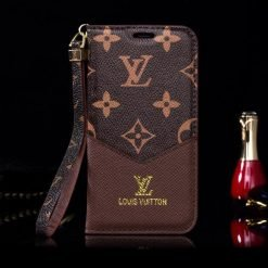 MORE COLORS Louis Vuitton Style Monogram Magnetic Flap Wallet Leather Cardholder Designer iPhone Case For iPhone X XS XS Max XR 7 8 Plus - Casememe