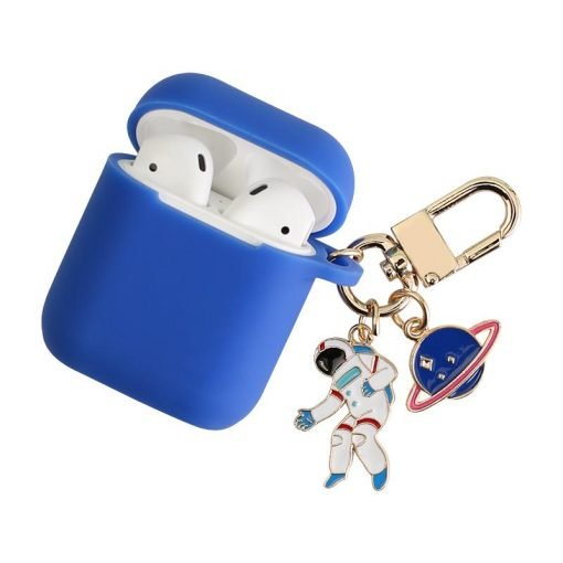 NASA Astronaut Space Silicone Protective Shockproof Case For Apple Airpods 1 & 2 - Casememe
