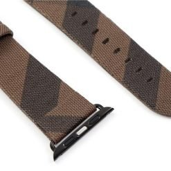 MORE COLORS Burberry Style Plaid Leather Compatible With Apple Watch 38mm 40mm 42mm 44mm Band Strap For iWatch Series 4/3/2/1 - Casememe