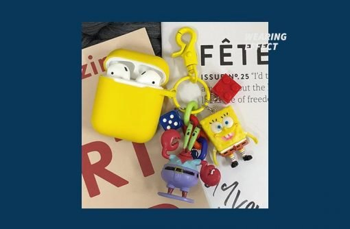 SpongeBob Patrick Star Silicone Protective Shockproof Case For Apple Airpods 1 & 2 - Casememe