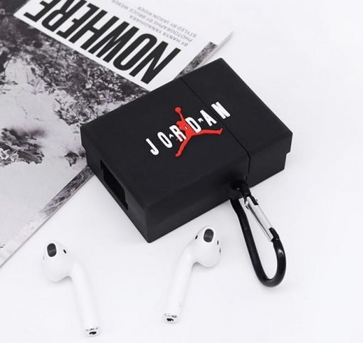 Air Jordan Style Box Silicone Protective Case For Apple Airpods 1 & 2 - Casememe